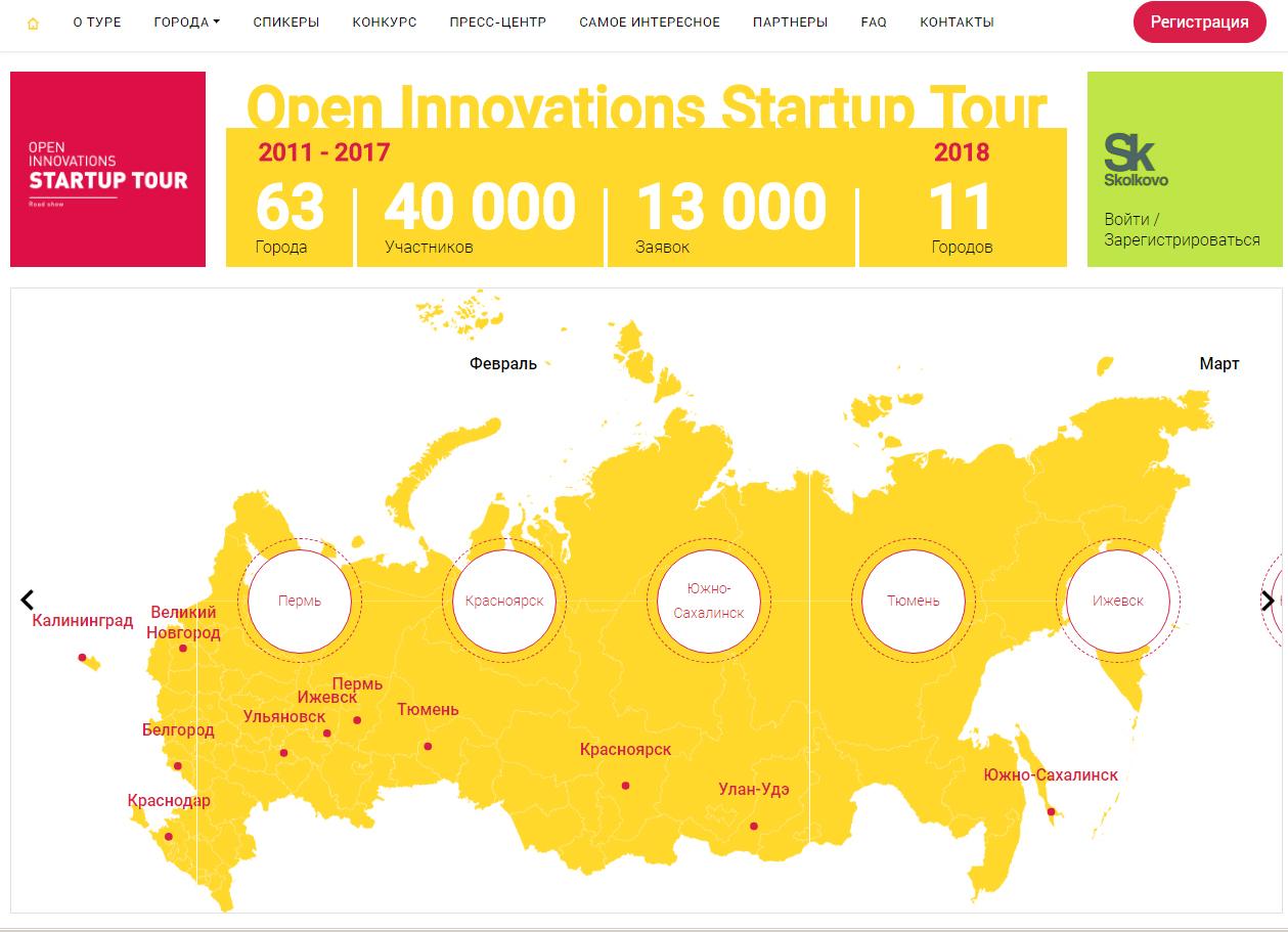 Региональный этап стартап-тура «Открытые инновации»